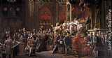 Charles Wall Art - The Coronation of Charles X
