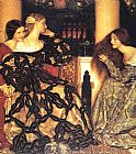Frank Cadogan Cowper - Venetian Ladies Listening to a Serenade