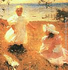 Frank Weston Benson - The Sisters