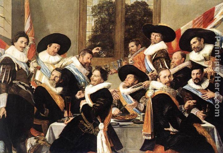 Frans Hals Banquet of the Officers of the St George Civic Guard Company