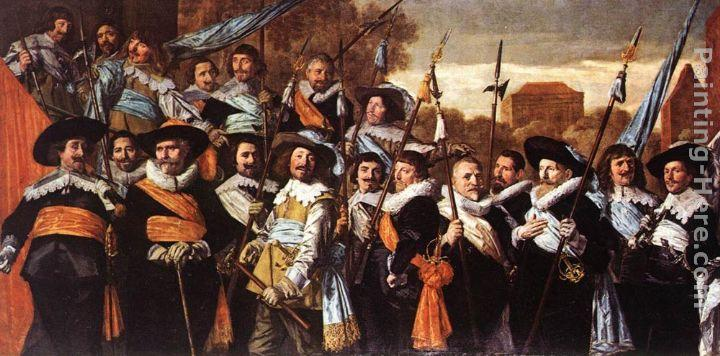 Frans Hals Officers and Sergeants of the St George Civic Guard Company