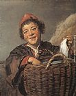 Frans Hals Famous Paintings - Fisher Boy
