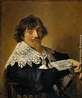 Frans Hals Portrait of a man, possibly Nicolaes Hasselaer painting