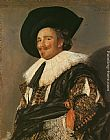 Frans Hals Famous Paintings - The Laughing Cavalier