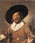 Frans Hals Wall Art - The Merry Drinker