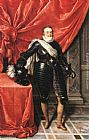 Frans Pourbus the Younger - Henry IV, King of France in Armour