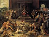 Famous Charles Paintings - Allegory on the Abdication of Emperor Charles V in Brussels, 25 October 1555