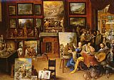 Frans the younger Francken - Pictura, Poesis and Musica in a Pronkkamer