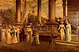 Franz Dvorak The Concert, Saratoga The Gay Nineties painting