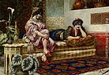 Franz Von Defregger - Idle Hours in the Harem