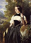 lake Wall Art - A Swiss Girl from Interlaken
