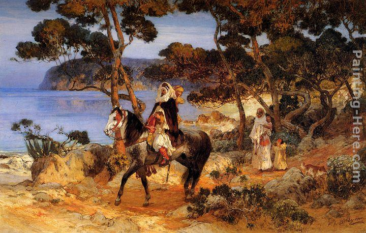 Frederick Arthur Bridgman Canvas Paintings