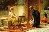 Frederick Arthur Bridgman Wall Art - The First Steps