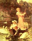 Frederick Morgan - A Day On The River