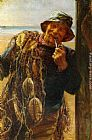 Frederick Morgan - A Jovial Fisherman