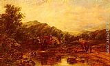 Frederick Waters Watts - A Mill Stream Among The Hills