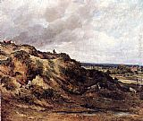 Frederick Waters Watts - View Of Hampstead Heath