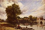 Frederick William Watts - Along The River