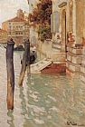 Canal Wall Art - On The Grand Canal, Venice