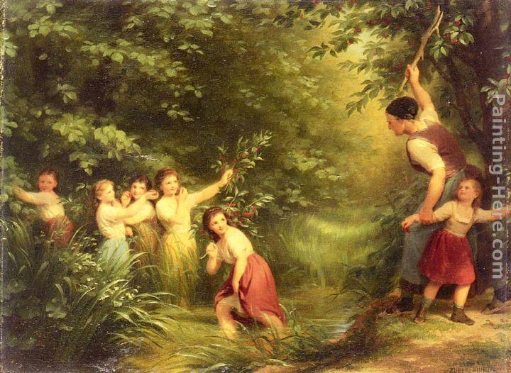 Fritz Zuber-Buhler The Cherry Thieves