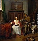 Gabriel Metsu - The Hunter's Present