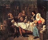 Gabriel Metsu - The Lord of Misrule