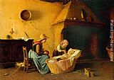 Gaetano Chierici - Feeding the Baby