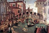 Gentile Bellini - Miracle of the Cross at the Bridge of S. Lorenzo