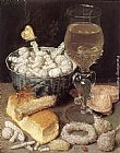 Georg Flegel - Still-Life with Bread and Confectionary