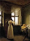 Georg Friedrich Kersting - At the Mirror