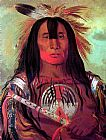 George Catlin - Buffalo Bull's Back Fat, Head Chief, Blood Tribe