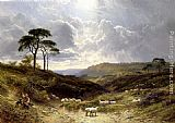 George Cole Snr Near Liss, Hampshire painting