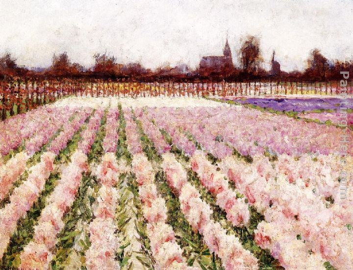 George Hitchcock Field of Flowers