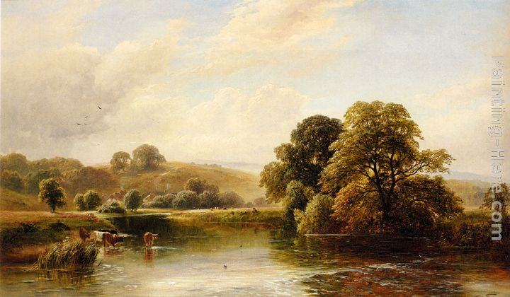 George Turner The Trent Near Ingleby