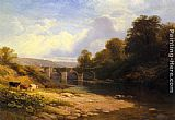 George Vicat Cole - Staveton Bridge, Devon