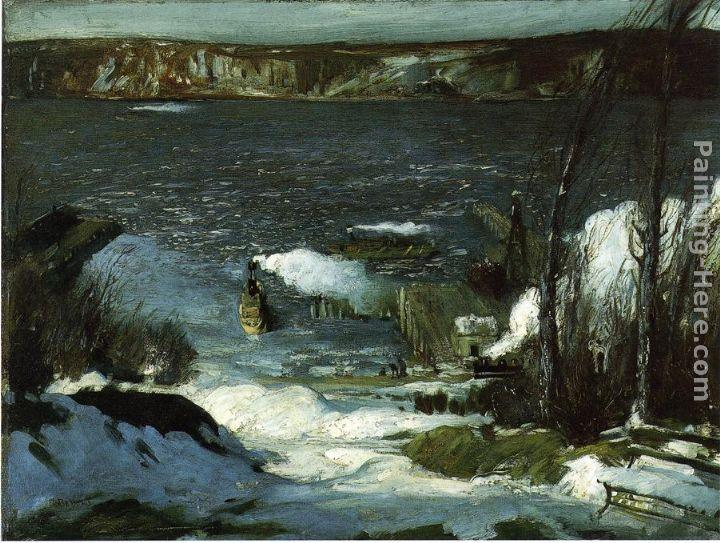 George Wesley Bellows North River