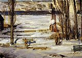 George Wesley Bellows A Morning Snow painting