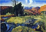 George Wesley Bellows - Autumn Brook