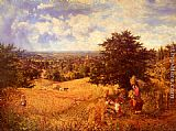 George William Mote - Harvest Time