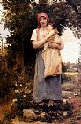 Georges Laugee - A Mother Holding Her Child