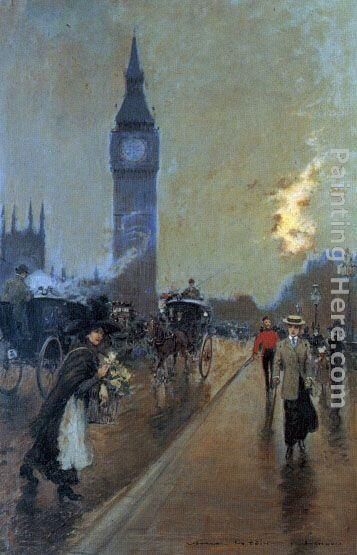 Georges Stein A view of Big Ben, London