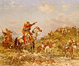 Georges Washington - Arab Warriors on Horseback
