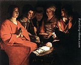 Georges de La Tour - Adoration of the Shepherds