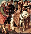 Gerard David - Pilate's Dispute with the High Priest