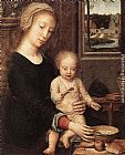 Gerard David - The Madonna of the Milk Soup