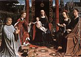 Gerard David - The Mystic Marriage of St Catherine
