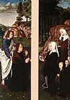 Des Wall Art - Triptych of Jean Des Trompes (side panels)