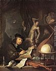 Gerrit Dou - Painter in his Studio