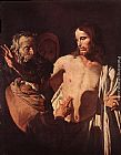 Gerrit van Honthorst The Incredulity of St Thomas painting