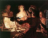 Gerrit van Honthorst The Prodigal Son painting
